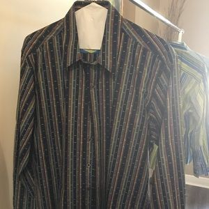 Robert Graham Long Sleeve Shirt..size XL/TG